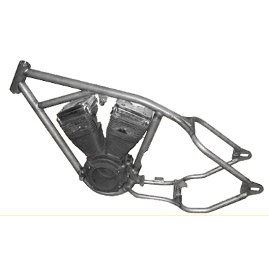 Harley std frame, Single tube